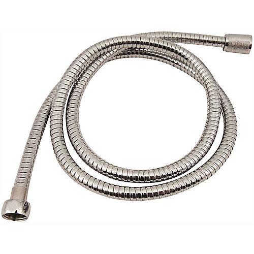 Shower Hose, 79 inch Chrome Plated Metal