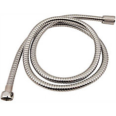 Proplus Shower Hose, 79 In., Chrome Plated Metal