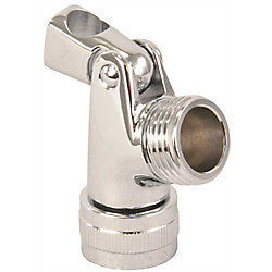 Proplus Swivel Connector Solid Brass Chrome