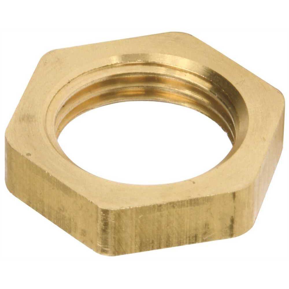 Proplus Faucet Locknut, 1/2 inch Ips, Brass