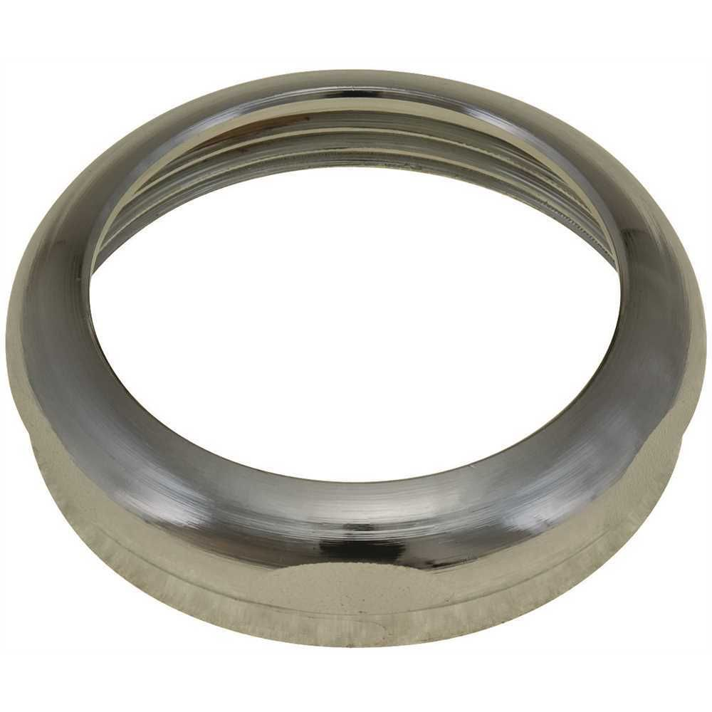 Brass Slip Joint Nut, Chrome, 1-1/2 inch