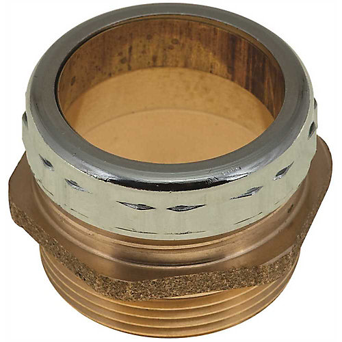 Trap Adapter Ground Joint, 1-1/2 inch Od X 1-1/2 inch Mip