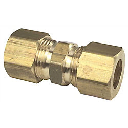 Proplus Brass Compression Reducing Union, 5/8 inch X 3/8 inch Lead Free