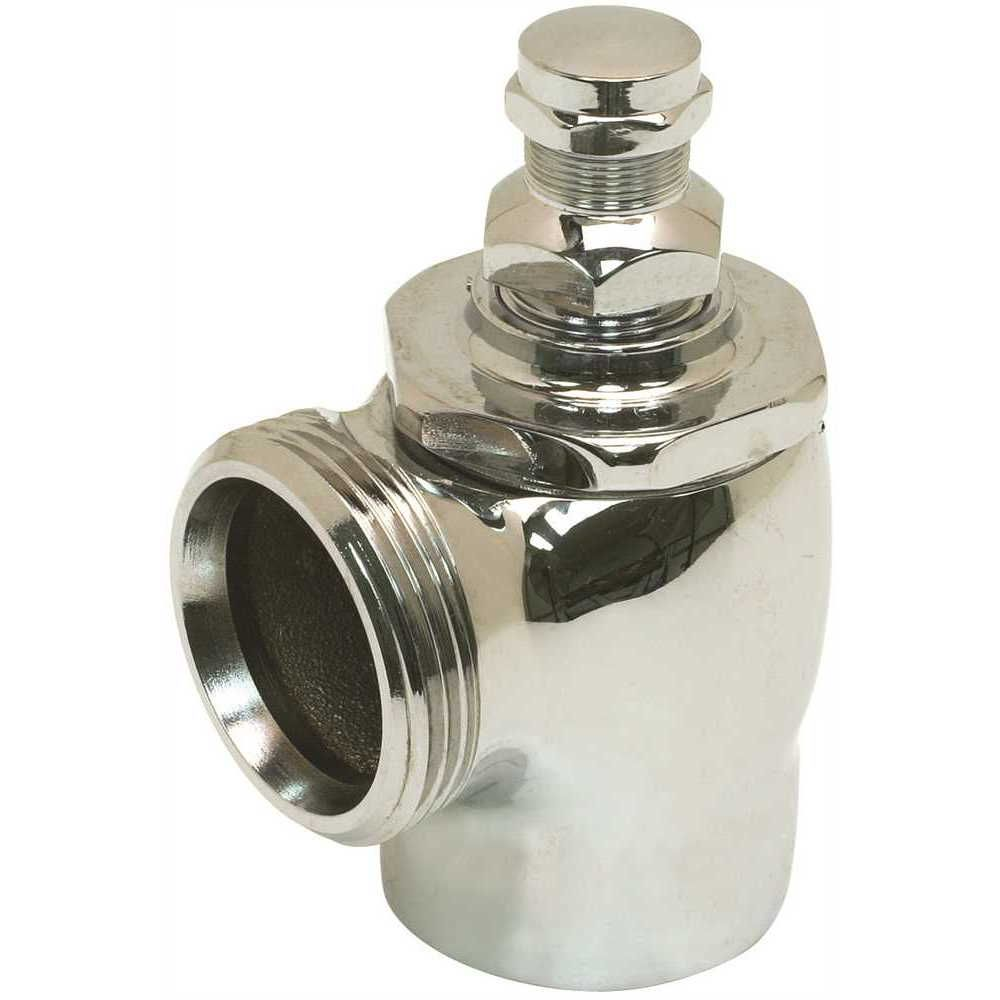 Coyne & Delany C And D 1 inch Chrome Angle Stop Quiet Style Sd
