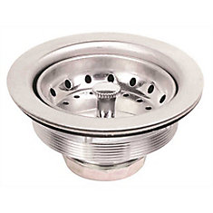 Sink Strainer, Stainless Steel, Bagged