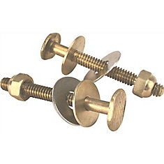 Toilet Bolts Brass Johnni Bolt 5/16 inch  X 2-1/4 inch