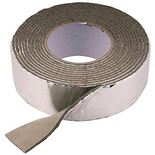 Foam And Foil Pipe Wrap 2 In. X 1/8 In. X 15 Ft.