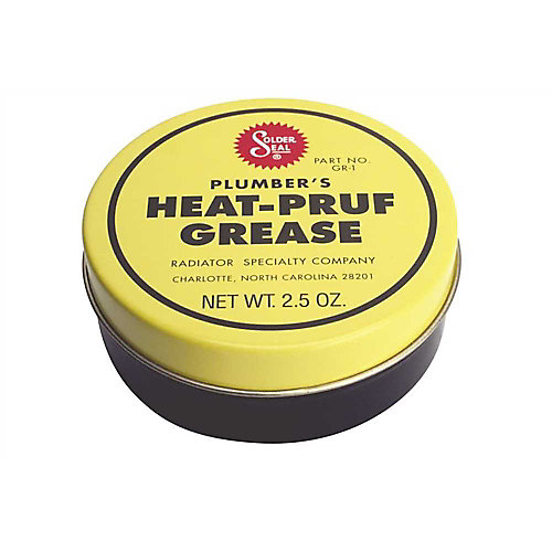 Plumbers Heat-Pruf Grease Stem Lubricant 2-1/2 Oz.