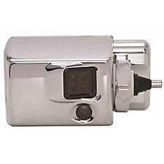 Premier Commercial Autoflush Sidemount With Courtesy Flush Button, Metal