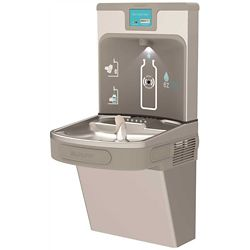 Elkay Enhanced Bottle Filling Station With Single Ada Cooler, Filtered, 8 Gph, 18-3/8 X 19 X 39-7/16 inch, Light Gray Granite
