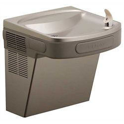 Elkay Wall Mount Water Cooler, Wheelchair Access, Front And Side Bars, 8 Gph, 18-3/8 X 19 X 19-13/16 inch, Light Gray Granite
