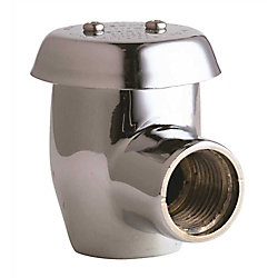Chicago Faucets Angle Vacuum Breaker 1/2 inch, Lead Free