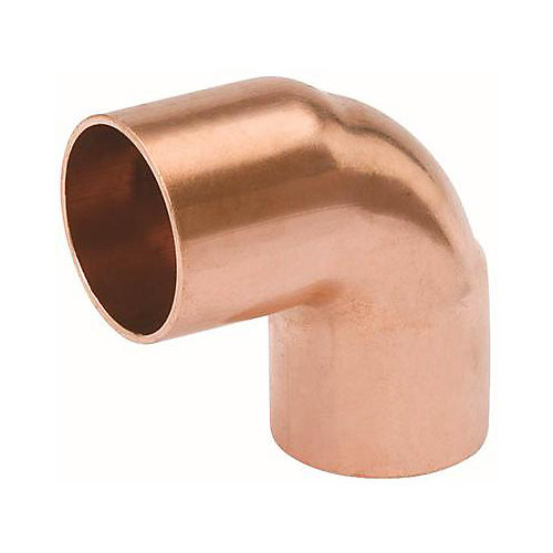Copper Elbow 90 Deg Short 1-inch