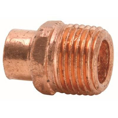 Copper Fitting Adapter C X Mip 1