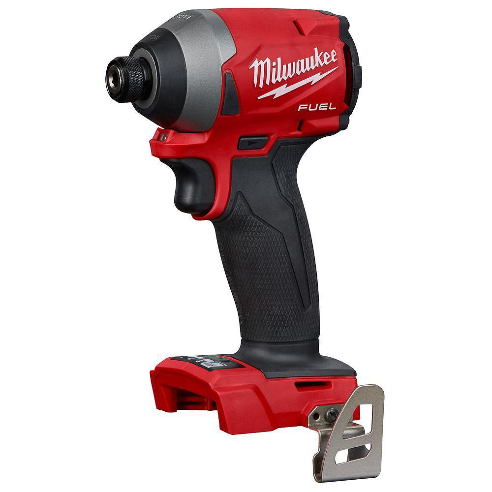 Milwaukee Tool M18 FUEL 18V Lithium-Ion Brushless Cordless 1/4-inch Hex Impact Driver (Tool Only)