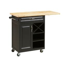 Homestar 1-Drawer Kitchen Cart with large worktop