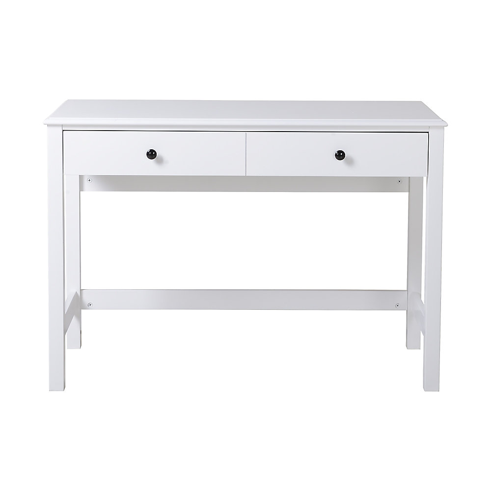 Pleasing Othello Writing Desk White Beutiful Home Inspiration Truamahrainfo