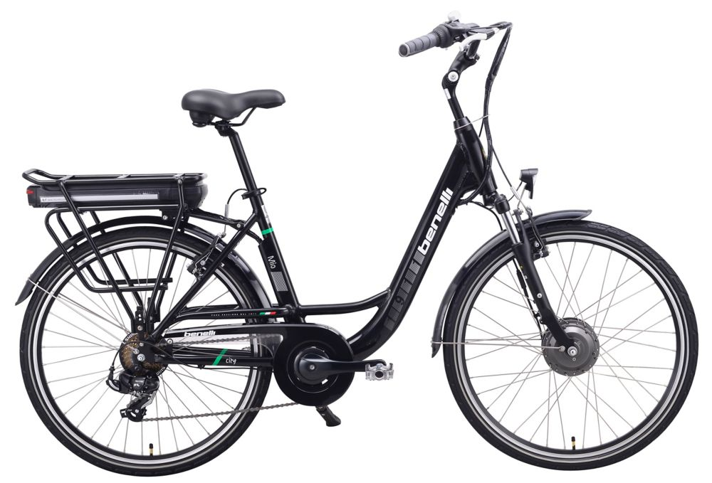 Mio 26-inch Black Electric Bike