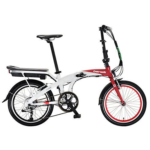 Foldecity 20 po rouge et blanc Vélo électrique