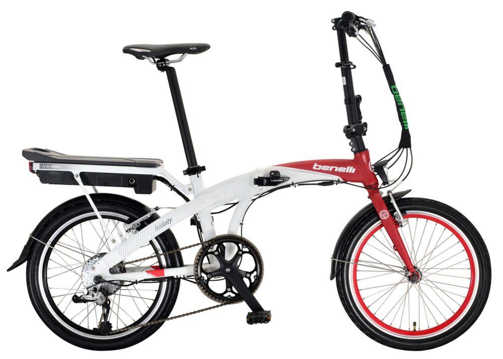 Benelli Foldecity 20-inch Red/White Electric Bike