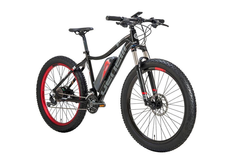 Benelli Nerone 3.5-inch Fat Tire Black Electric Bike