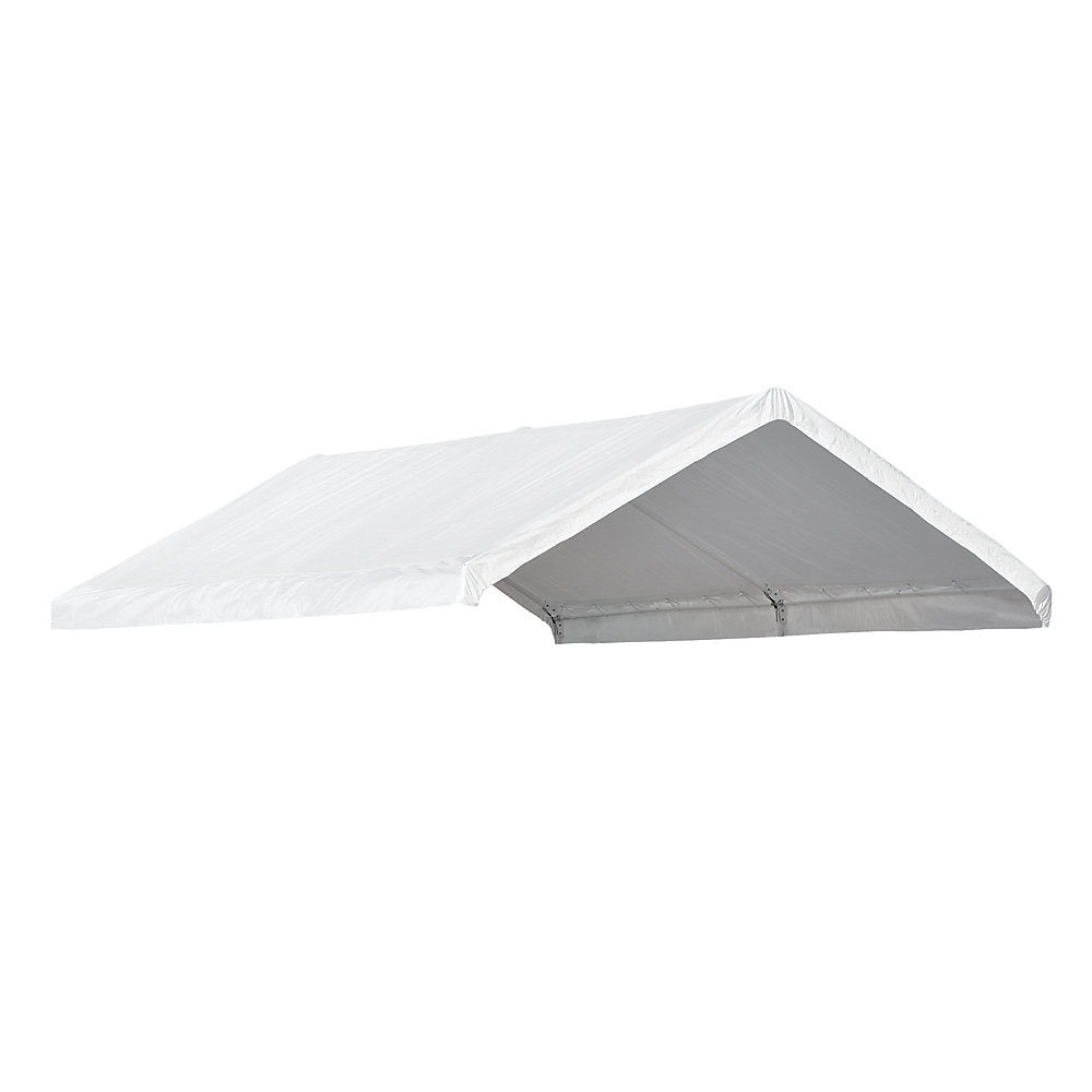 AccelaFrame Canopy 10 x 20 ft  Replacement Cover - White (Canopy Frame Sold  Separately)