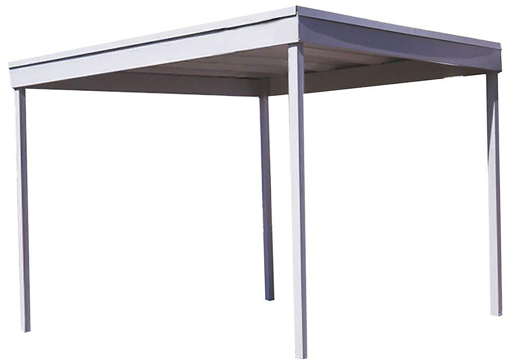Arrow Carport/Patio Cover Freestanding 10 x 10 ft. Eggshell