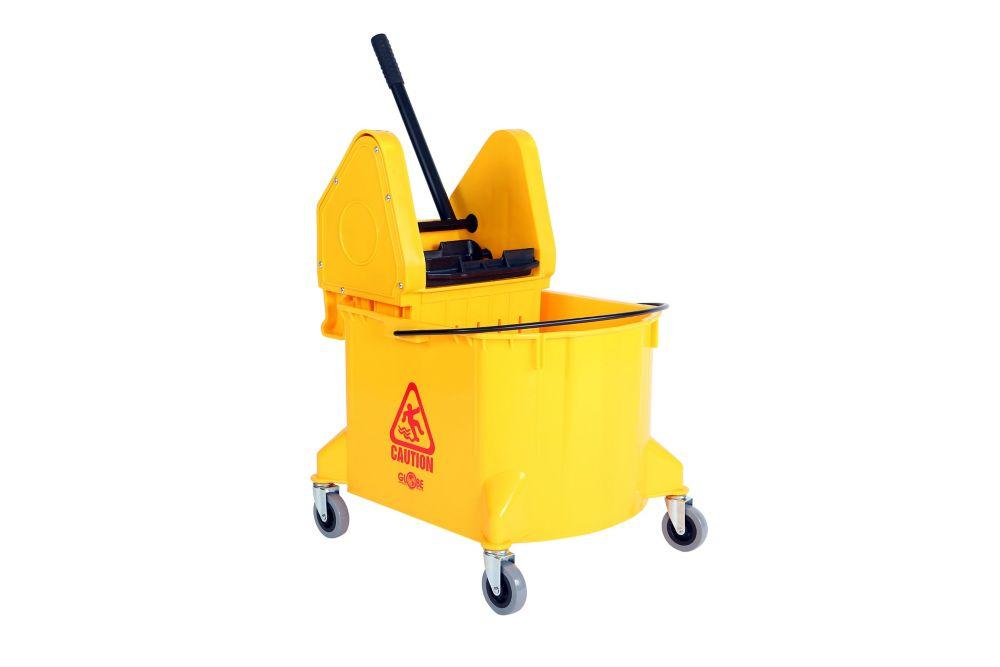 35Qt. Downpress Bucket and Wringer Yellow