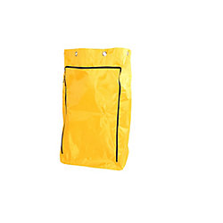 Globe Commercial Products Vinyl Replacement Bags With Zipper  8 Grommets