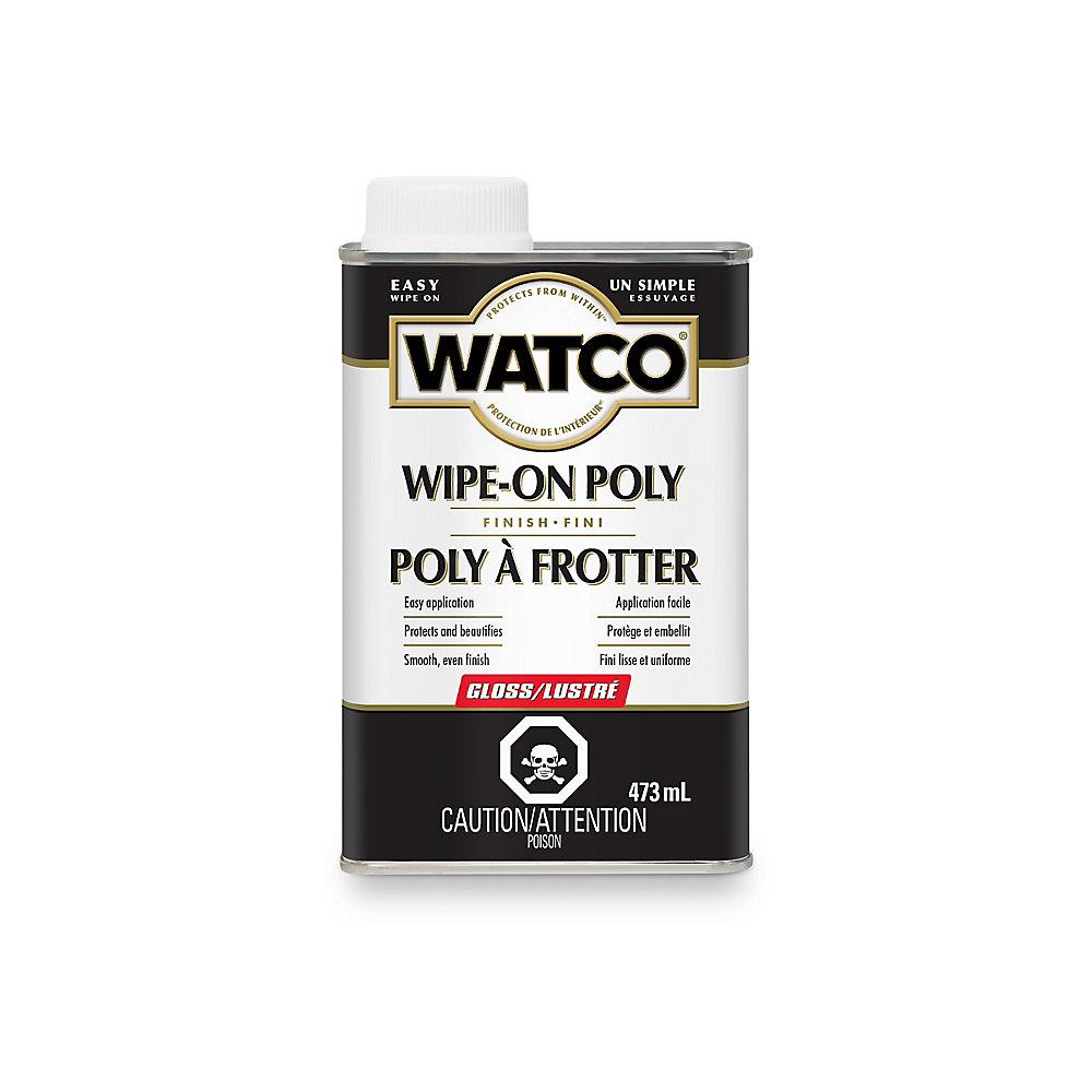 Watco poly à frotter lustré 473ml