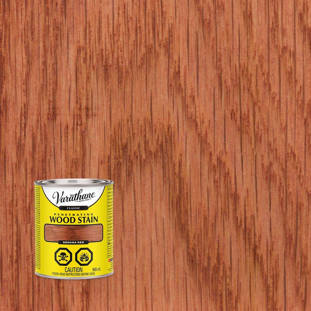 Varathane Classic Penetrating Wood Stain Sedona Red 946ml