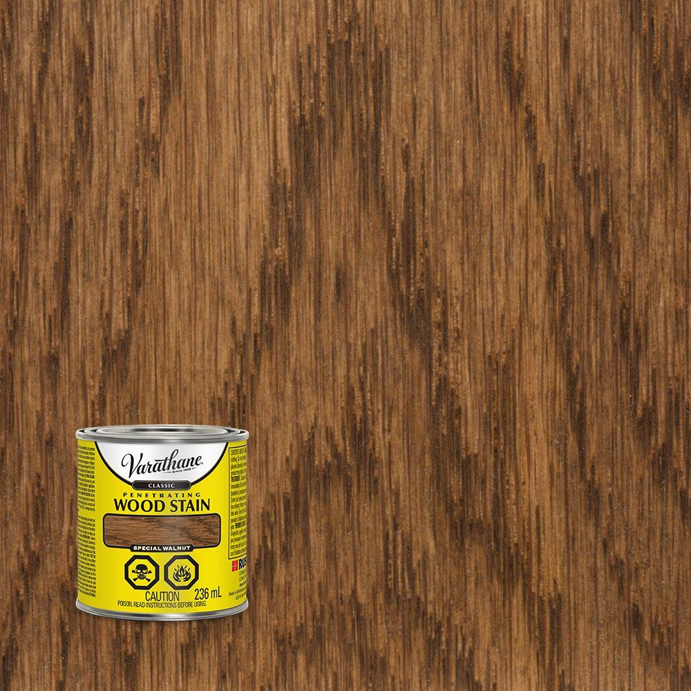 Varathane Varathane Classic Penetrating Wood Stain Special Walnut 236ml