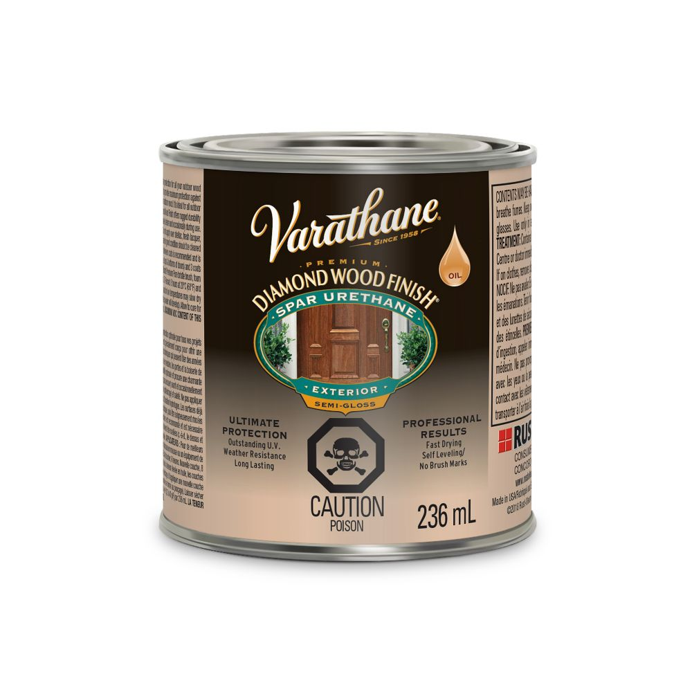 Varathane Varathane Diamond Wood Finish OB Exterior Semi-Gloss 236ml