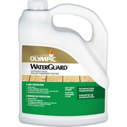 Olympic WaterGuard Clear Wood Sealer 3.78 L-55260XIC