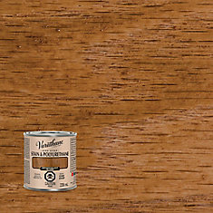 Varathane Stain & Polyurethane Gloss Antique Walnut 236ml