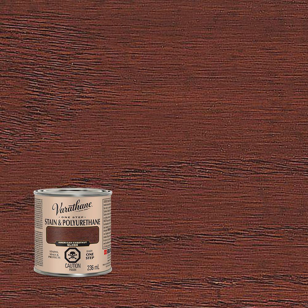 Varathane Floor Finish Applicator: Varathane Stain & Polyurethane Gloss American Chestnut