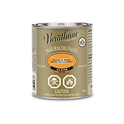 Varathane Natural Oil Finish Clear 946ml