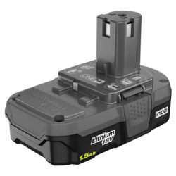 RYOBI Batterie compacte 18V ONE+ 1,5 Ah Lithium-Ion Compact Battery