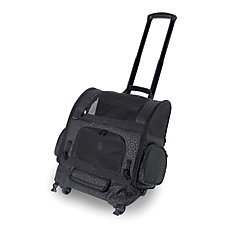 RC2000 Roller-Carrier Pet Carrier Black Geometric