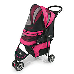 Gen7 Pets Regal Plus Pet Stroller Raspberry Sorbet