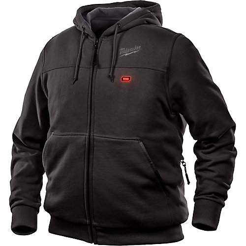 Men's X-Large M12 12V Lithium-Ion Cordless Black Heated Hoodie (Jacket Only)