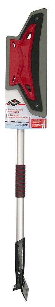 Telescopic snowbrush , 63 inch long