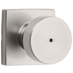 Weiser Cambie Privacy Knob in Satin Nickel