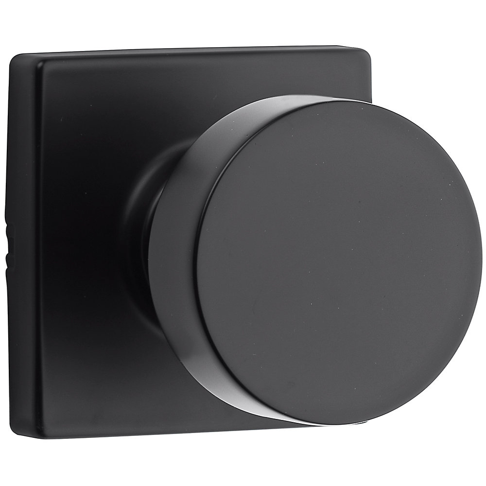 Cambie Passage Knob in Black
