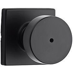 Cambie Privacy Knob in Black