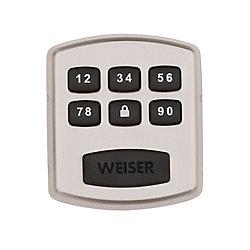 Weiser Powerbolt 1.0 Satin Nickel Keyless Entry Electronic Deadbolt