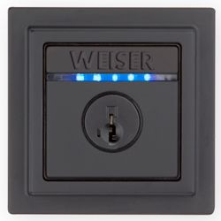 Weiser Kevo Contemporary Electronic Deadbolt Black