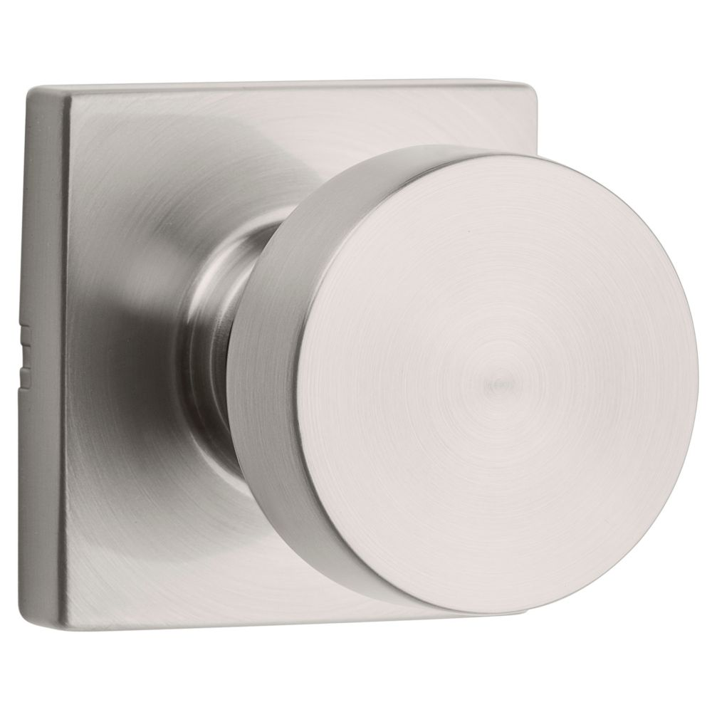 Weiser Cambie Passage Knob in Satin Nickel