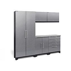 NewAge Products Inc. Performance 2.0 Diamond Plate Silver 6-Piece Set