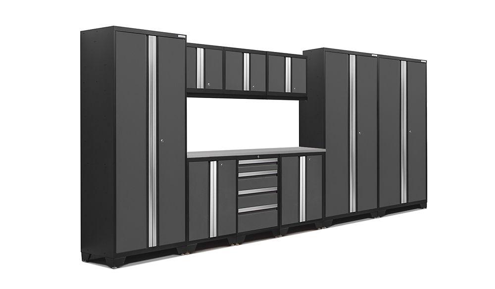 NewAge Products Bold 3.0 Gray 10 Piece Set